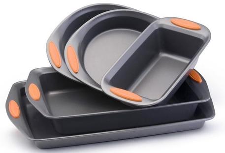 rachael-ray-non-stick-5-piece-bakeware-set