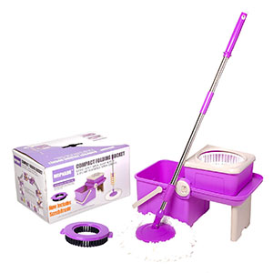Compact and Durable Mop for Hardwood Floors