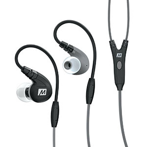 In-Ear Sport Headphones with Built-in Mic
