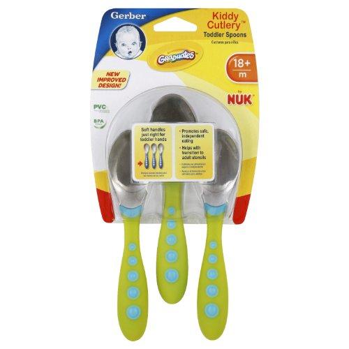 Gerber Graduates Kiddy Cutlery Spoon Set