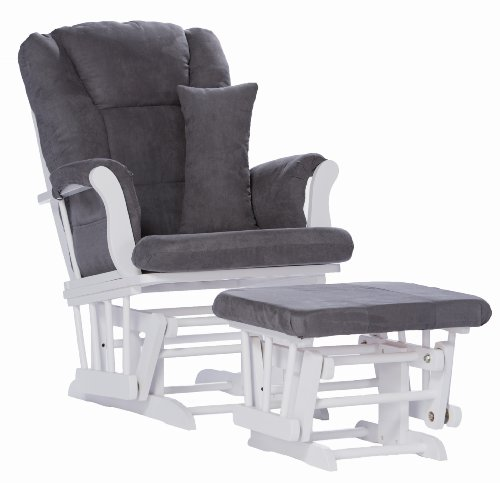 2 u2013 stork craft custom tuscany glider and ottoman