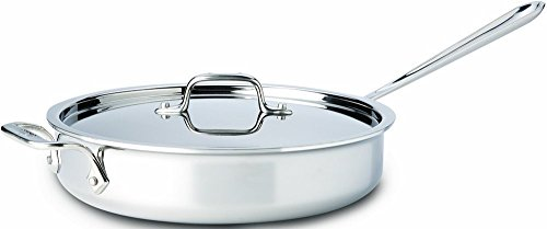 All-Clad Stainless Steel Tri-Ply Bonded Saute Pan