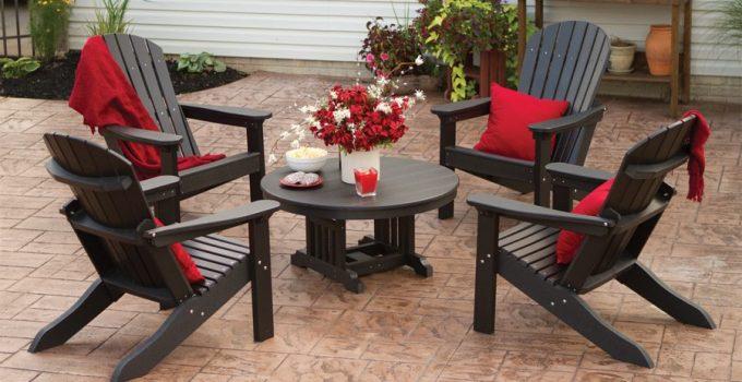 Backyard Adirondack Chairs