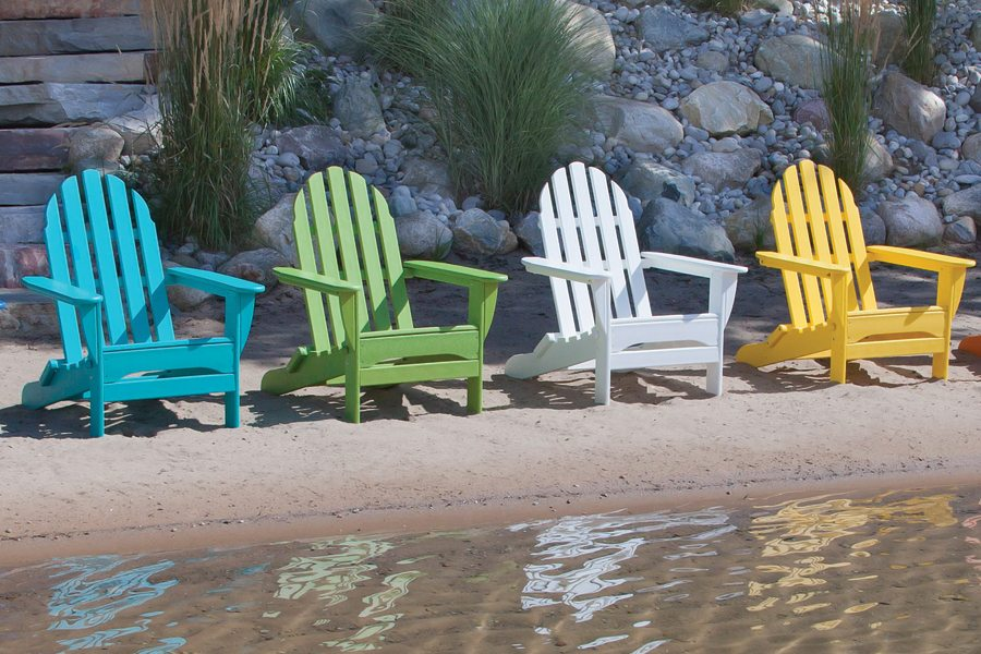 Beach Adirondack Chairs