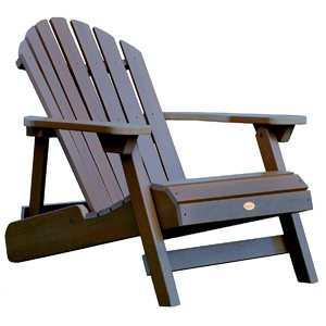 Highwood Hamilton Deep Brown Adirondack Chair