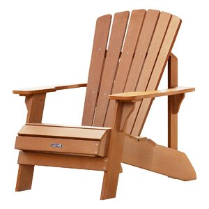 Light Brown Lifetime Adirondack Chair