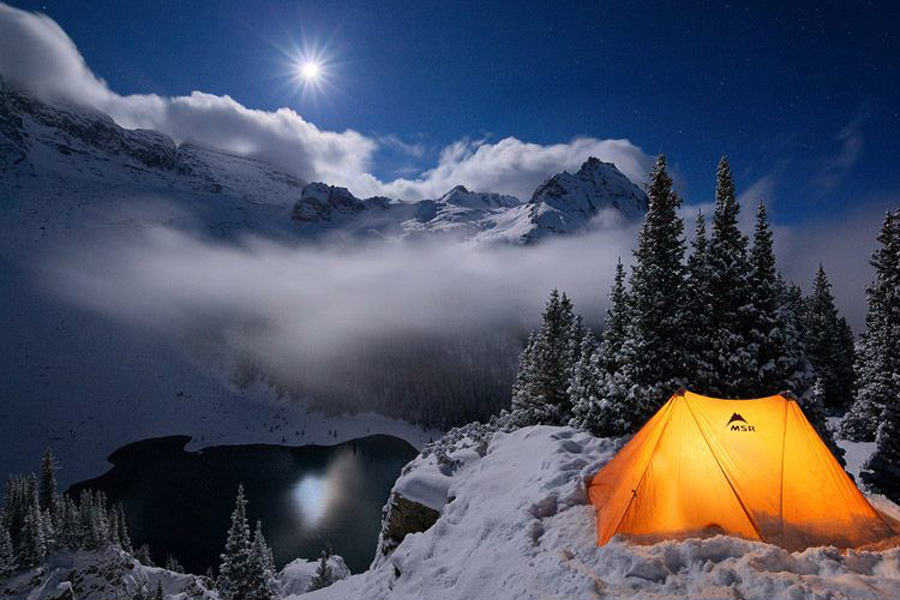 How to Prepare for a Winter Camping Trip