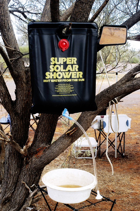 camping showers buying guide